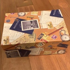 Passport Travel Inspired Box